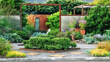 Ornamental plant garden design